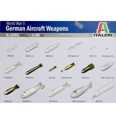 Italeri 2691  WW2 German Aircraft Weapons.