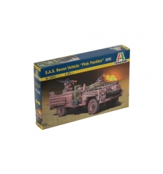 "Italeri 6501  1/35 S.A.S Recon Vehicle ""Pink Panther"""