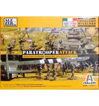 Italeri - Nr. 6701 - 1:72 PARATROOPERATTACK Operation Overlord Normandy 1944 Expansion Pack.