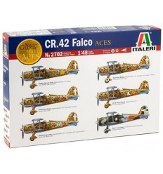 Italeri 2702 CR.42 Falco Aces