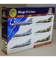 Italeri 2718 MIRAGE III CJ ACES