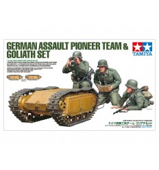Tamiya 35357 GERMAN ASSAULT PIONEER TEAM & GOLIATH SET