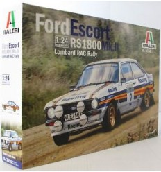 Italeri 3650 FORD ESCORT RS1800 Mk.II Lombard RAC Rally.