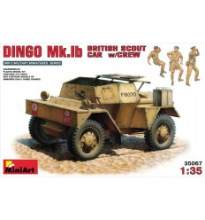 MiniArt 35067 DINGO Mk.1b BRITISH SCOUT CAR w/CREW