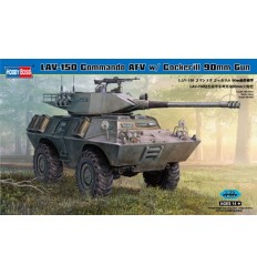 Hobby Boss 82422 LAV-150 Commando AFV w/ Cockerill 90mm Gun