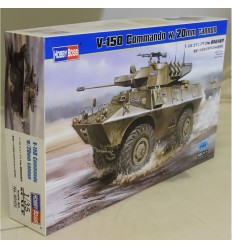 Hobby Boss 82420 V-150 Commando w/20mm cannon
