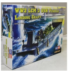 Hobby Boss 84817 WW2 LCM 3 USN Vehicle Landing Craft