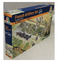 Italeri 6031 1/72 FRENCH ARTILLERY SET