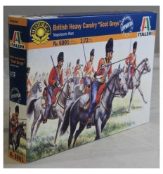 "Italeri 6001 1/72 BRITISH HEAVY CAVALRY ""SCOTS GREYS"""