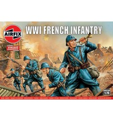 Airfix A00728V Vintage Classics WWI French Infantry