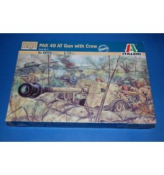 Italeri 6096 1/72 PAK 40 AT Gun With Crew