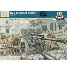 Italeri 6097 1/72 ZIS-3 AT Gun with Servants