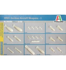 Italeri 26101 1/72 WW.II German Aircraft Weapons - I