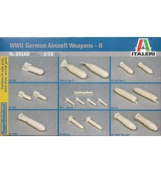 Italeri 26102 1/72 WWII German Aircraft Weapons - II