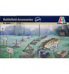 Italeri 6049 1/72 Battlefield Accessories