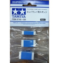 Tamiya 87192 Polishing Compound Sponges