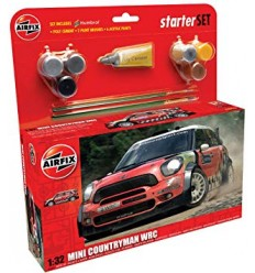 Airfix 55304 MINI Countryman WRC Starter set 1:32