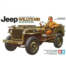 Tamiya 35219 US Jeep Willys MB 1/4 Ton Truck 4X4 Truck