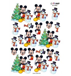 HM Easy 180932 Mickey og en snemand