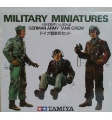 Tamiya 35001 German Army Tank Crew 1:35