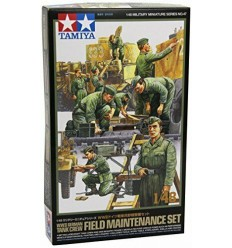 Tamiya 32547 WWII German Tank Crew Field Maintenance Set 1:48