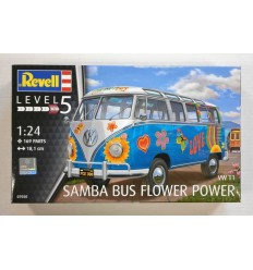 Revell 07050 Samba Bus FLOWER Power VW T1 124