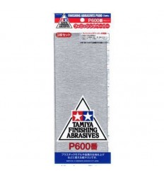 Tamiya Finishing Abrasives P600 87055