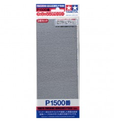 Tamiya Finishing Abrasives P1500 87059