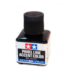 Panel Line Accent Color Black Tamiya 87131
