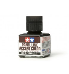 Panel Line Accent Color Dark Brown Tamiya 87140
