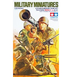 U.S. Gun & Mortar Team Set Tamiya 35086