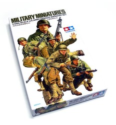U.S. Army Assault Infantry Set, Tamiya 35192