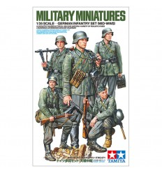 Tamiya 35371 -1/35 German Infantry set (MID-WWII)