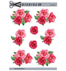 Quickies 204529 Rosa blomster