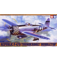 "Tamiya 61090 Republic P-47D Thunderbolt ""Bubbletop"" 1:48"